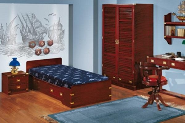 Детская Модель 1 купить в салоне-студии мебели Барселона mnogospalen.ru много спален мебель Италии классические современные