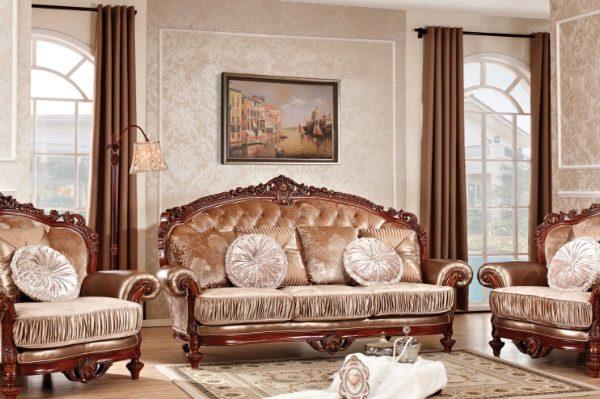 Диван Цезарь купить в салоне-студии мебели Барселона mnogospalen.ru много спален мебель Италии классические современные
