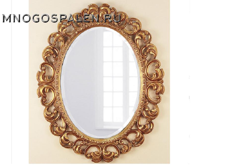 Как сделать рамку для зеркала из фото