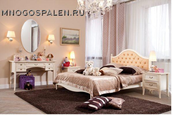 Мебель для детской Флоренция купить в салоне-студии мебели Барселона mnogospalen.ru много спален мебель Италии классические современные