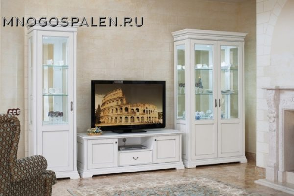 Гостиная «Signoria» купить в салоне-студии мебели Барселона mnogospalen.ru много спален мебель Италии классические современные