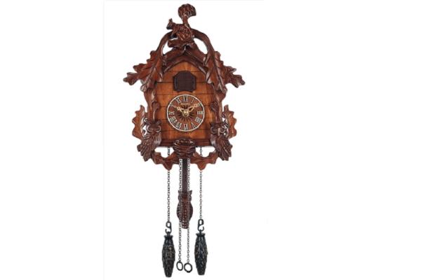 Настенные часы с кукушкой СQ-077C купить в салоне-студии мебели Барселона mnogospalen.ru много спален мебель Италии классические современные
