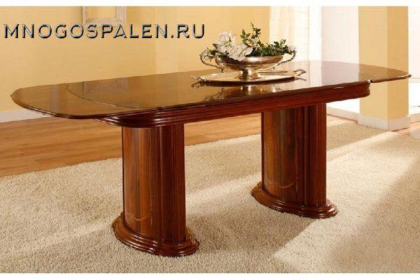 Стол обеденный №47 Пекан купить в салоне-студии мебели Барселона mnogospalen.ru много спален мебель Италии классические современные