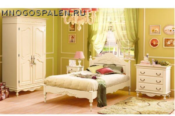 Спальня Provence купить в салоне-студии мебели Барселона mnogospalen.ru много спален мебель Италии классические современные