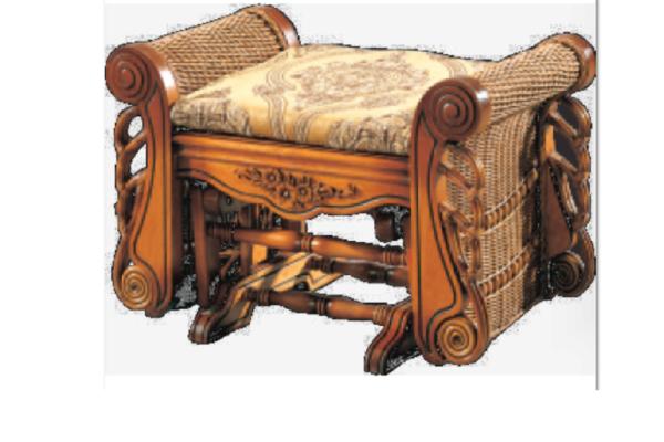 ПУФ ДЛЯ КРЕСЛА-КАЧАЛКИ VICTORIA купить в салоне-студии мебели Барселона mnogospalen.ru много спален мебель Италии классические современные