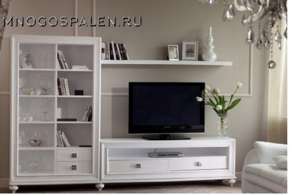 Гостиная «Pitti» купить в салоне-студии мебели Барселона mnogospalen.ru много спален мебель Италии классические современные