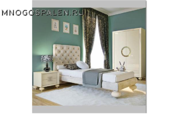 Кровать арт. FB.BD.PL.111 купить в салоне-студии мебели Барселона mnogospalen.ru много спален мебель Италии классические современные