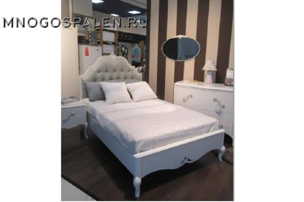 Кровать арт. BS.BD.FR.75 купить в салоне-студии мебели Барселона mnogospalen.ru много спален мебель Италии классические современные