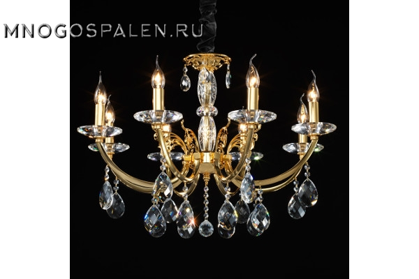 Люстра Stregaro 694082 (Lightstar) купить в салоне-студии мебели Барселона mnogospalen.ru много спален мебель Италии классические современные