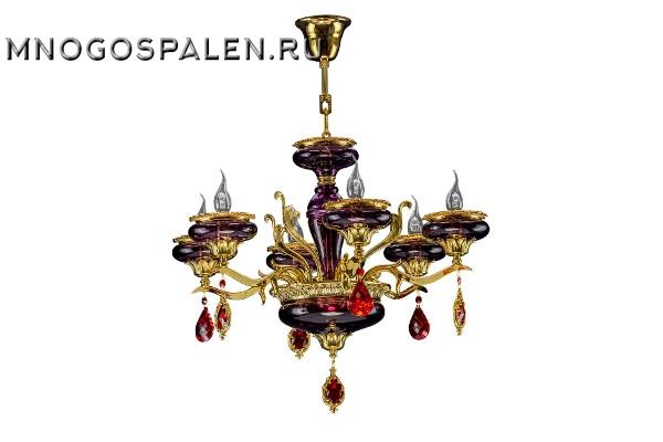 Люстра Melagro 695062 (Lightstar) купить в салоне-студии мебели Барселона mnogospalen.ru много спален мебель Италии классические современные
