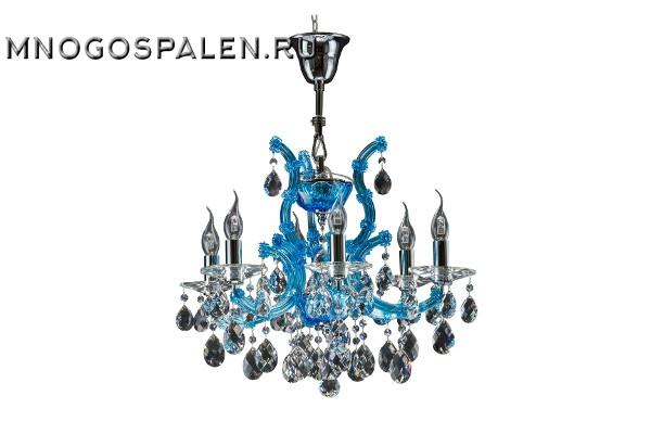 Люстра Champa blu 698065 (Lightstar) купить в салоне-студии мебели Барселона mnogospalen.ru много спален мебель Италии классические современные