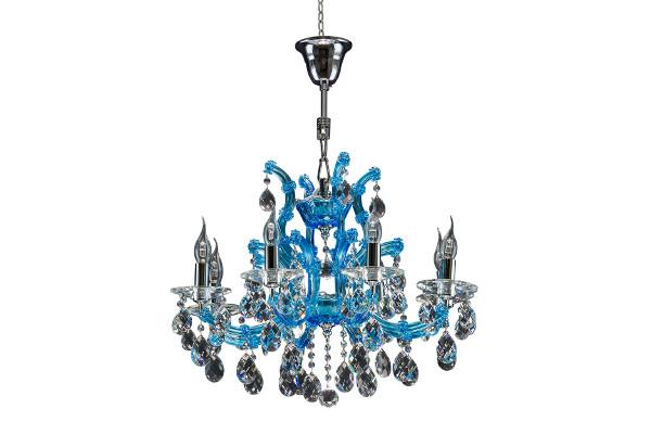 Люстра Champa blu 698085 (Lightstar) купить в салоне-студии мебели Барселона mnogospalen.ru много спален мебель Италии классические современные