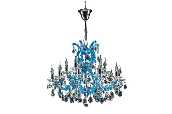 Люстра Champa blu 698165 (Lightstar) купить в салоне-студии мебели Барселона mnogospalen.ru много спален мебель Италии классические современные