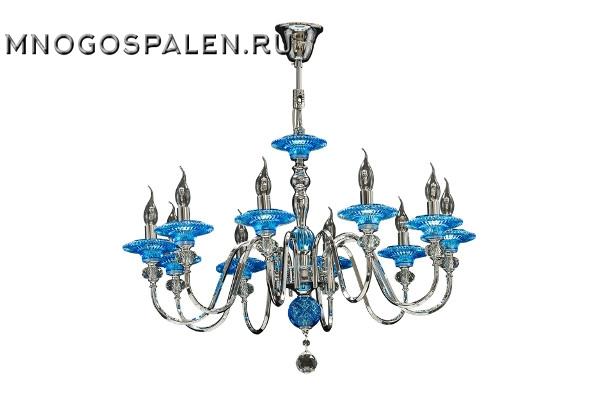 Люстра Azzurro 699104 (Lightstar) купить в салоне-студии мебели Барселона mnogospalen.ru много спален мебель Италии классические современные