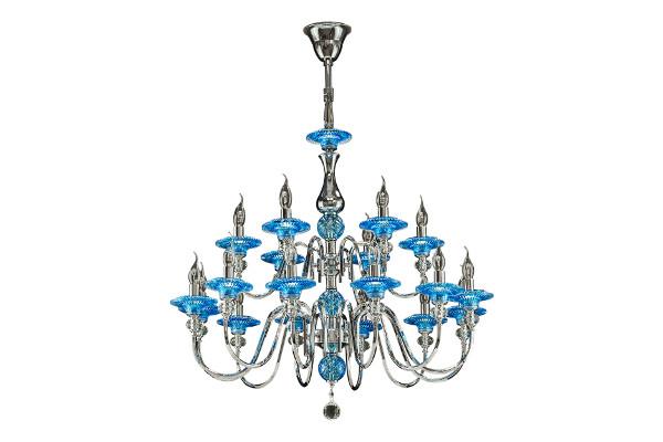 Люстра Azzurro 699184 (Lightstar) купить в салоне-студии мебели Барселона mnogospalen.ru много спален мебель Италии классические современные