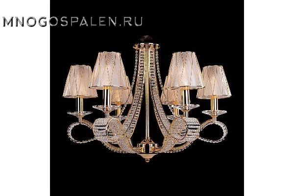 Люстра Riccio 705062 (Lightstar) купить в салоне-студии мебели Барселона mnogospalen.ru много спален мебель Италии классические современные
