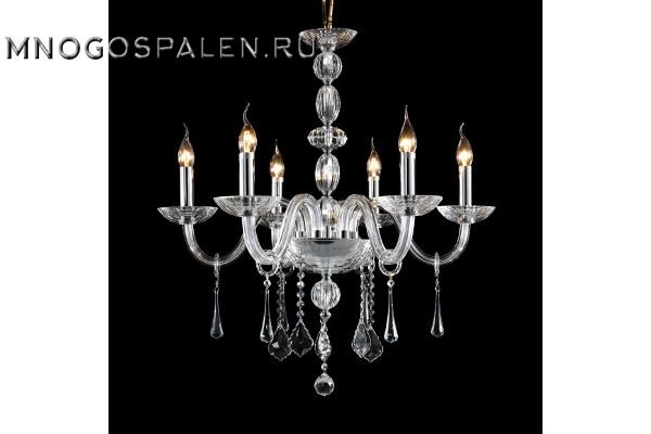 Люстра CRISTA 722064 (Lightstar) купить в салоне-студии мебели Барселона mnogospalen.ru много спален мебель Италии классические современные