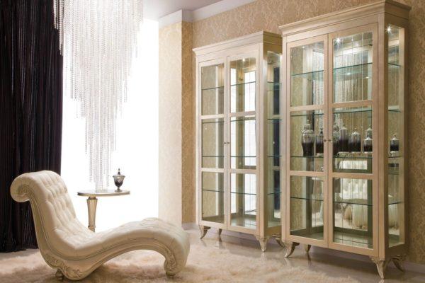 Гостиная Florence купить в салоне-студии мебели Барселона mnogospalen.ru много спален мебель Италии классические современные