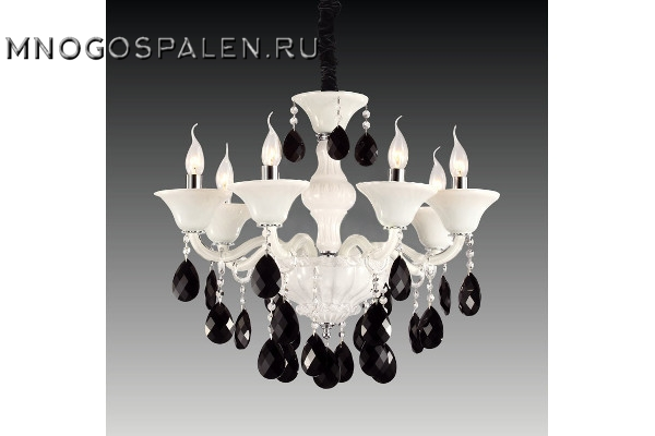 Люстра Bianca 881060 (Lightstar) купить в салоне-студии мебели Барселона mnogospalen.ru много спален мебель Италии классические современные
