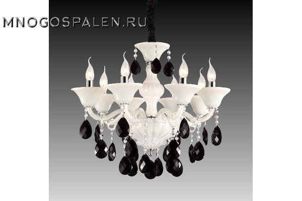 Люстра Bianca 881080 (Lightstar) купить в салоне-студии мебели Барселона mnogospalen.ru много спален мебель Италии классические современные