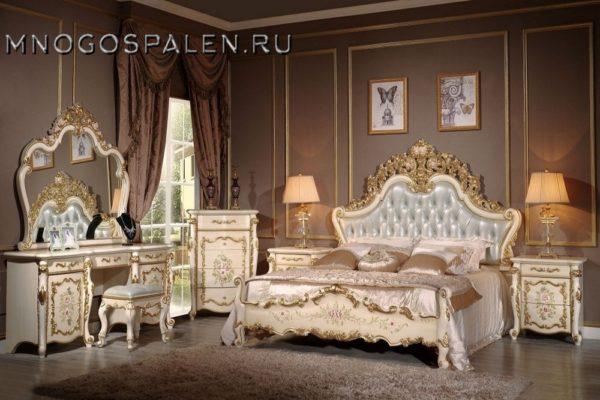 Спальня BATICELLA купить в салоне-студии мебели Барселона mnogospalen.ru много спален мебель Италии классические современные