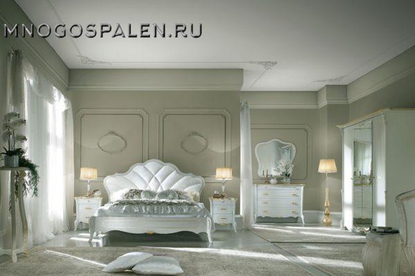 Спальня Giulietta laccato купить в салоне-студии мебели Барселона mnogospalen.ru много спален мебель Италии классические современные