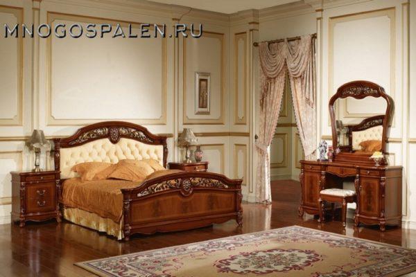 Спальня Afina купить в салоне-студии мебели Барселона mnogospalen.ru много спален мебель Италии классические современные
