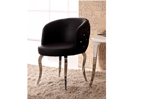 Кресло со стразами купить в салоне-студии мебели Барселона mnogospalen.ru много спален мебель Италии классические современные
