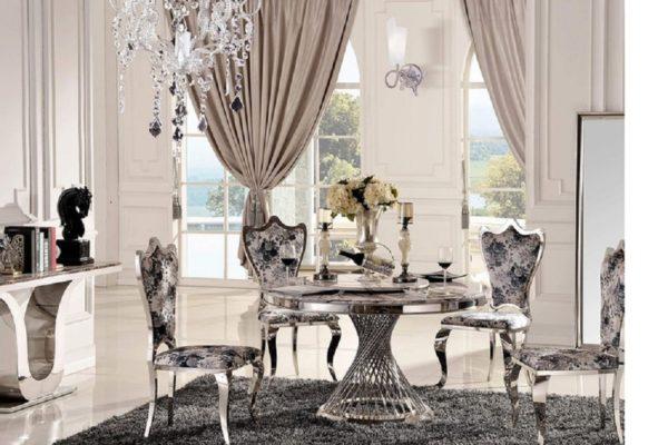 Обеденный стол SKY купить в салоне-студии мебели Барселона mnogospalen.ru много спален мебель Италии классические современные