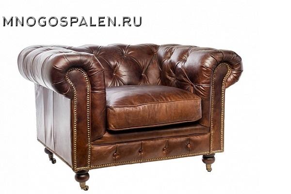 Кресло Честерфилд купить в салоне-студии мебели Барселона mnogospalen.ru много спален мебель Италии классические современные
