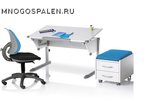 Школьная парта Cool Top купить в салоне-студии мебели Барселона mnogospalen.ru много спален мебель Италии классические современные