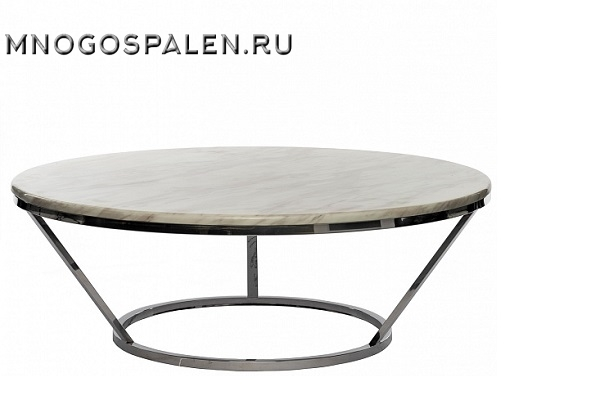 Журнальный стол с мраморной столешницей купить в салоне-студии мебели Барселона mnogospalen.ru много спален мебель Италии классические современные