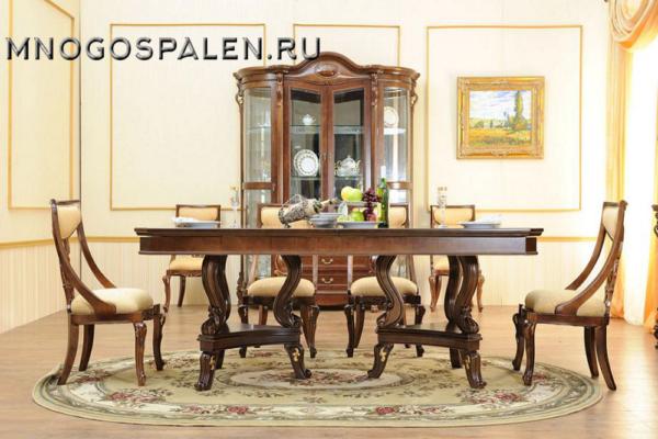 Гостиная Elizabeth купить в салоне-студии мебели Барселона mnogospalen.ru много спален мебель Италии классические современные