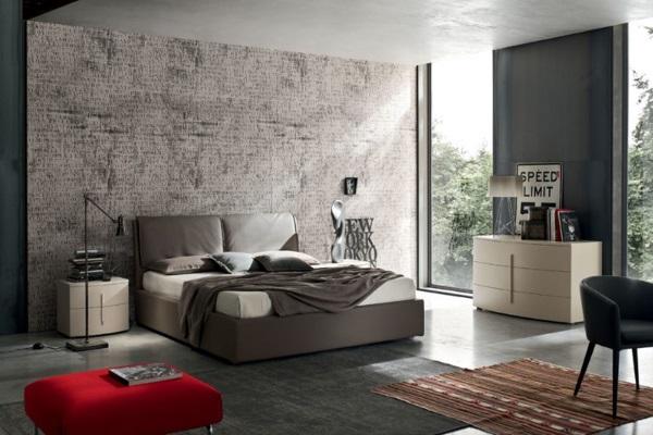 Кровать EDRA купить в салоне-студии мебели Барселона mnogospalen.ru много спален мебель Италии классические современные