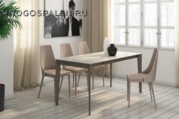 Стол AXEL купить в салоне-студии мебели Барселона mnogospalen.ru много спален мебель Италии классические современные