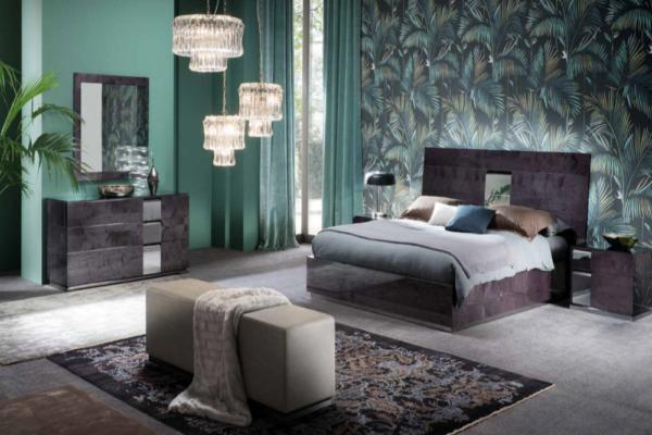 Итальянская спальня Heritage купить в салоне-студии мебели Барселона mnogospalen.ru много спален мебель Италии классические современные