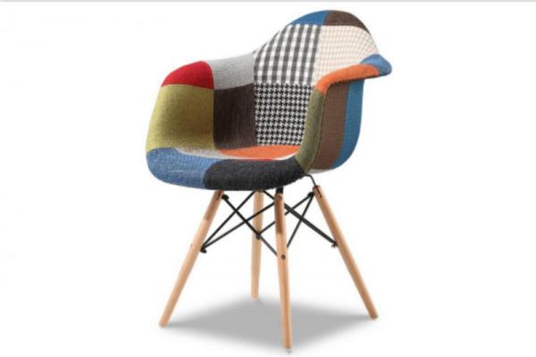 Кресло PW082B patchwork купить в салоне-студии мебели Барселона mnogospalen.ru много спален мебель Италии классические современные