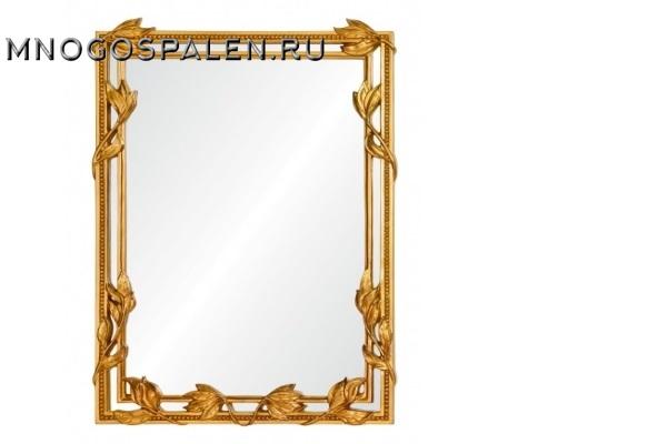 Зеркало Maria A88046-1 золото купить в салоне-студии мебели Барселона mnogospalen.ru много спален мебель Италии классические современные