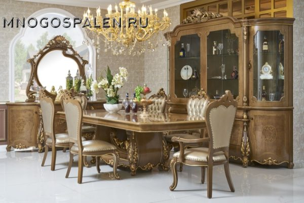 Гостиная  ESMERALDA купить в салоне-студии мебели Барселона mnogospalen.ru много спален мебель Италии классические современные