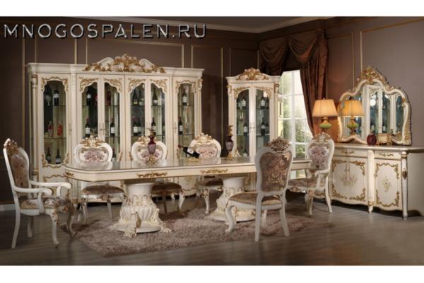 Гостиная BATICELLA купить в салоне-студии мебели Барселона mnogospalen.ru много спален мебель Италии классические современные