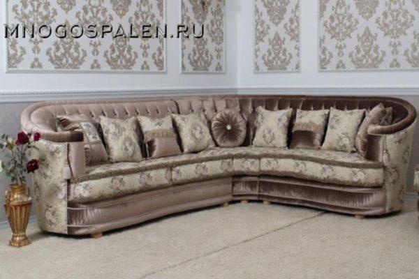Диван  Bristol купить в салоне-студии мебели Барселона mnogospalen.ru много спален мебель Италии классические современные