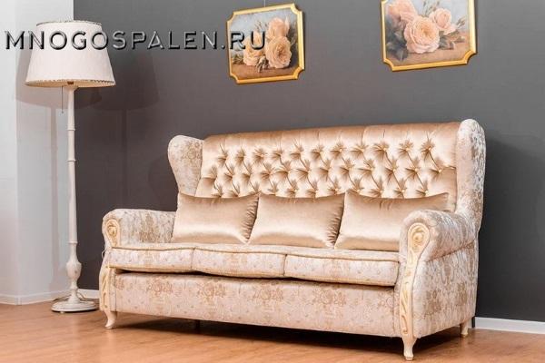 ДИВАН MAJORСA купить в салоне-студии мебели Барселона mnogospalen.ru много спален мебель Италии классические современные