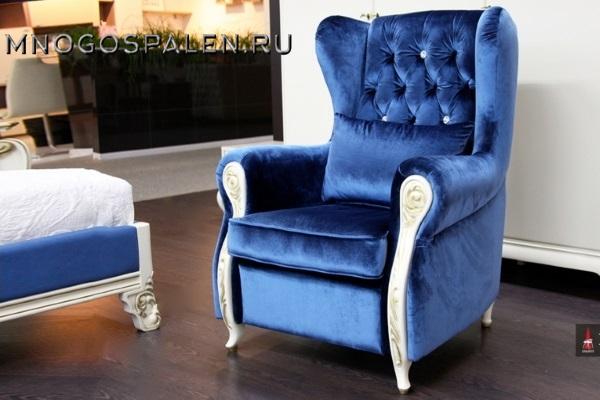 Кресло Majorca купить в салоне-студии мебели Барселона mnogospalen.ru много спален мебель Италии классические современные