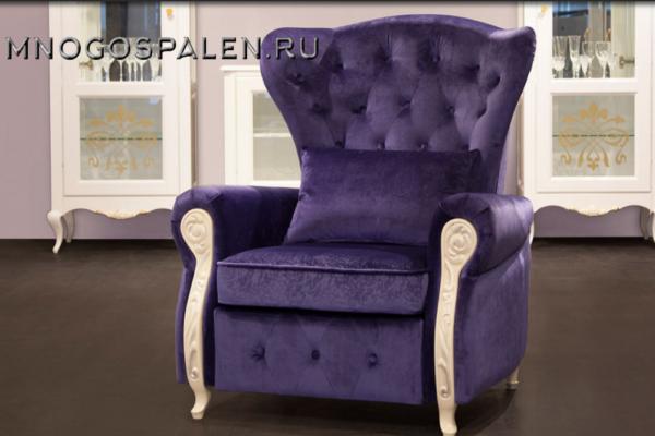 КРЕСЛО MONACO купить в салоне-студии мебели Барселона mnogospalen.ru много спален мебель Италии классические современные