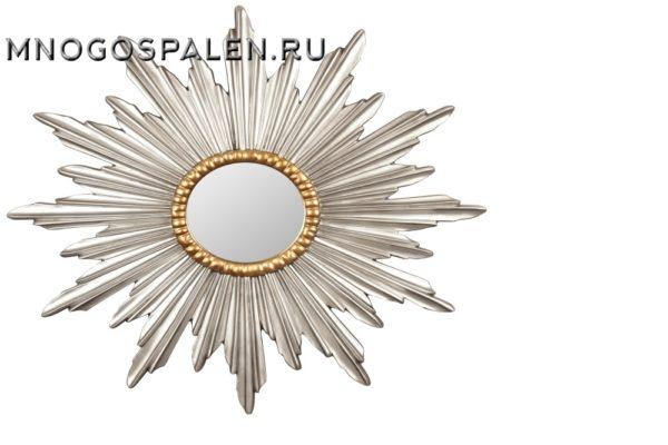 Зеркало-солнце Betelgeuse купить в салоне-студии мебели Барселона mnogospalen.ru много спален мебель Италии классические современные
