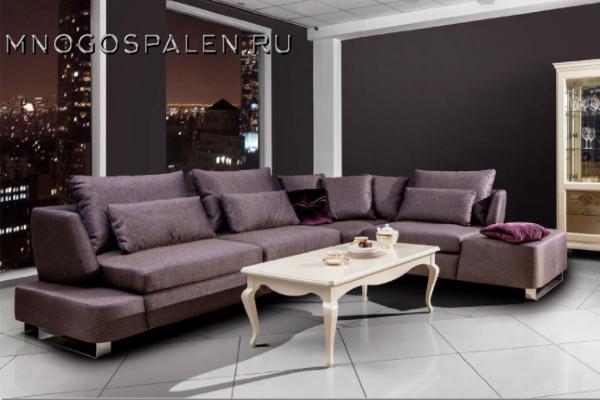 ДИВАН NEW YORK купить в салоне-студии мебели Барселона mnogospalen.ru много спален мебель Италии классические современные