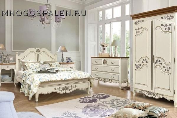 Спальня «Шенонсо» купить в салоне-студии мебели Барселона mnogospalen.ru много спален мебель Италии классические современные