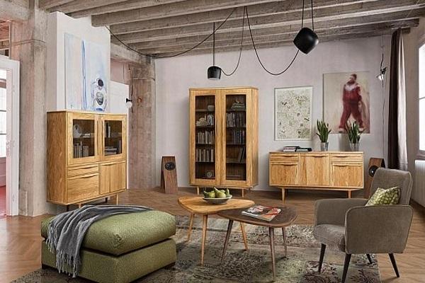 Гостиная «Райли» купить в салоне-студии мебели Барселона mnogospalen.ru много спален мебель Италии классические современные