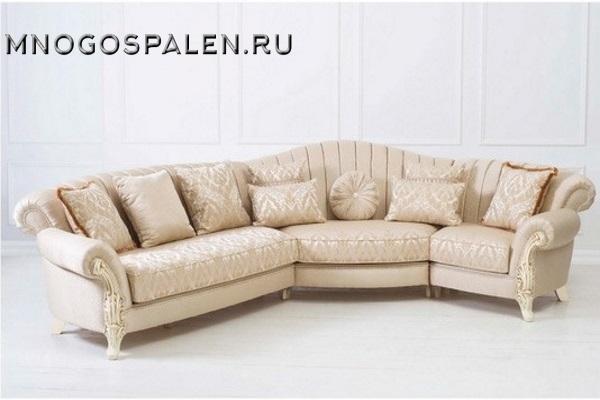 Диван  Petra купить в салоне-студии мебели Барселона mnogospalen.ru много спален мебель Италии классические современные