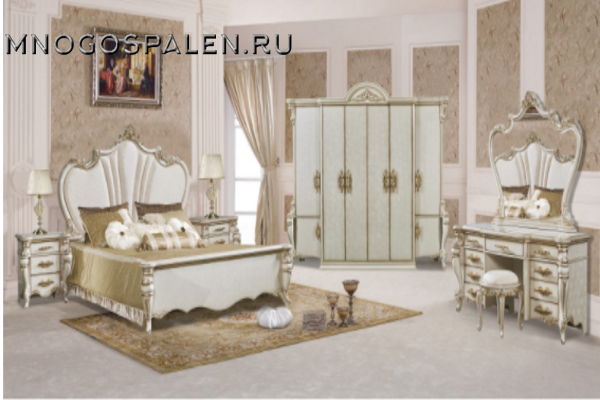 купить спальня Opera Crema салон итальянский мебели барселона в